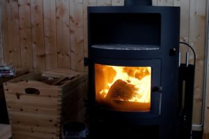 Cabin wood burner