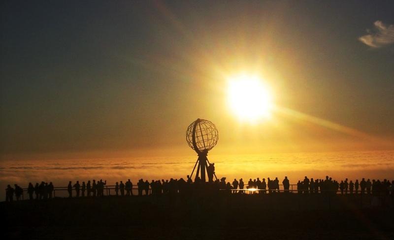 Nordkapp Midnight Sun