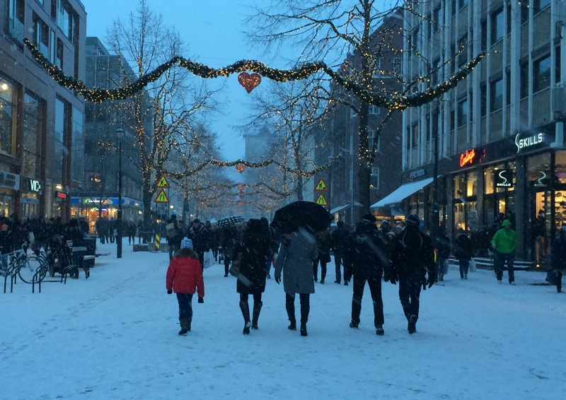 Christmas in Trondheim