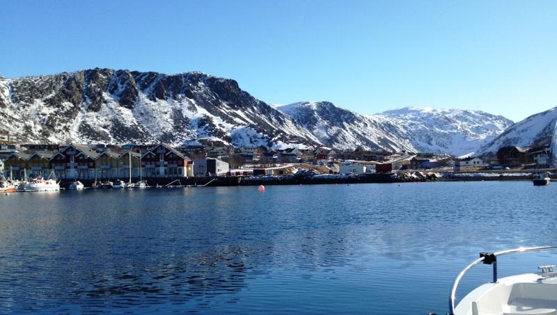 Hammerfest by boat