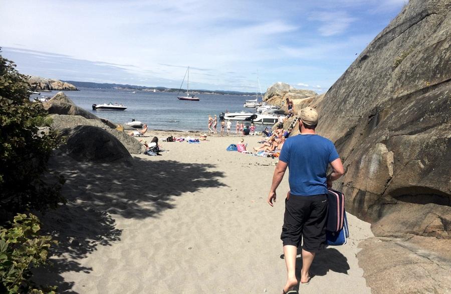 Svenner beach