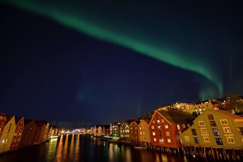 Aurora Borealis in Trondheim