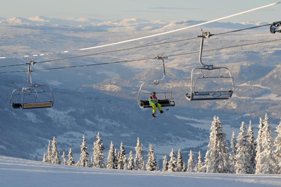 Hafjell Alpine skiing