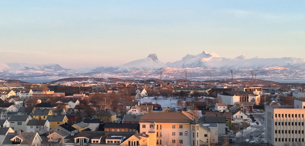 View from Radisson Blu Bodø