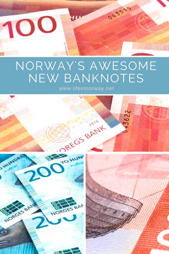 Norway's awesome new banknotes
