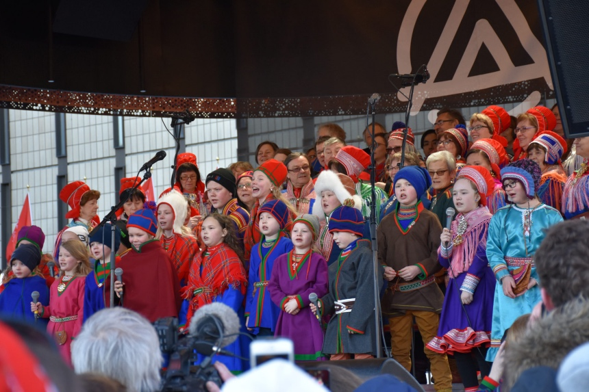 Sami National Day celebrations