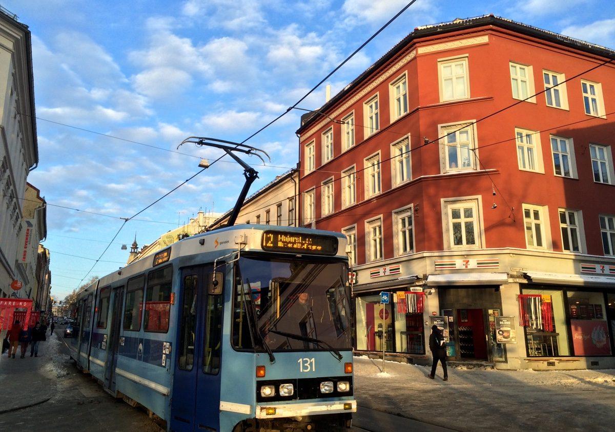 Tram in Grünerløkka