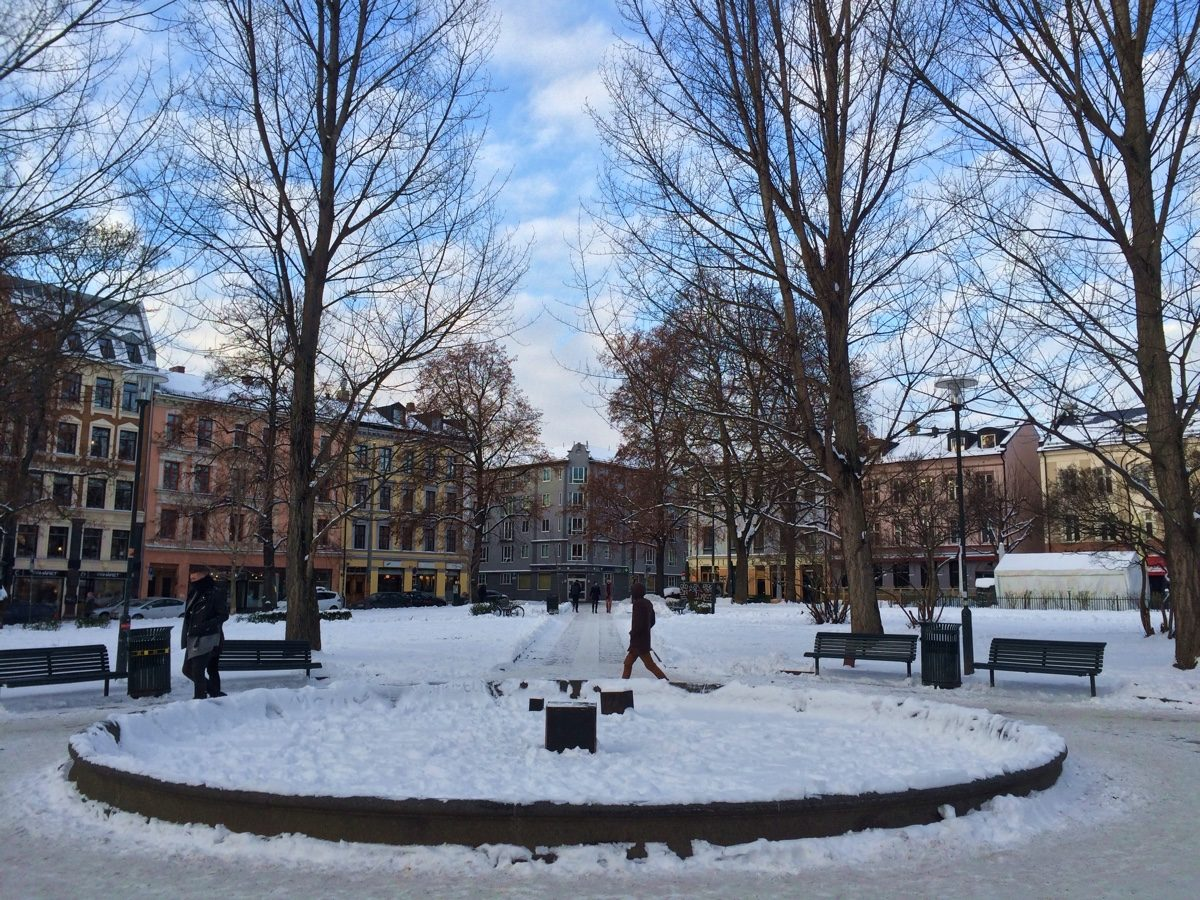 Oslo city park