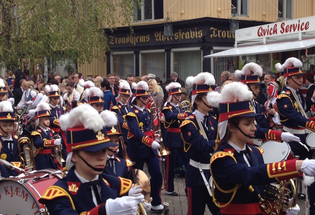 Marching bands Syttende mai