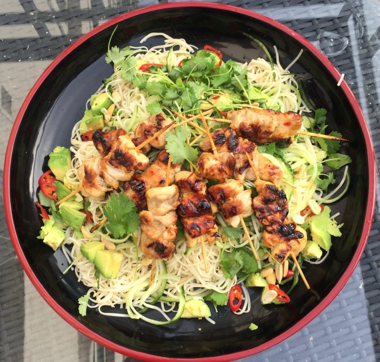 Chilli Chicken Noodle Salad