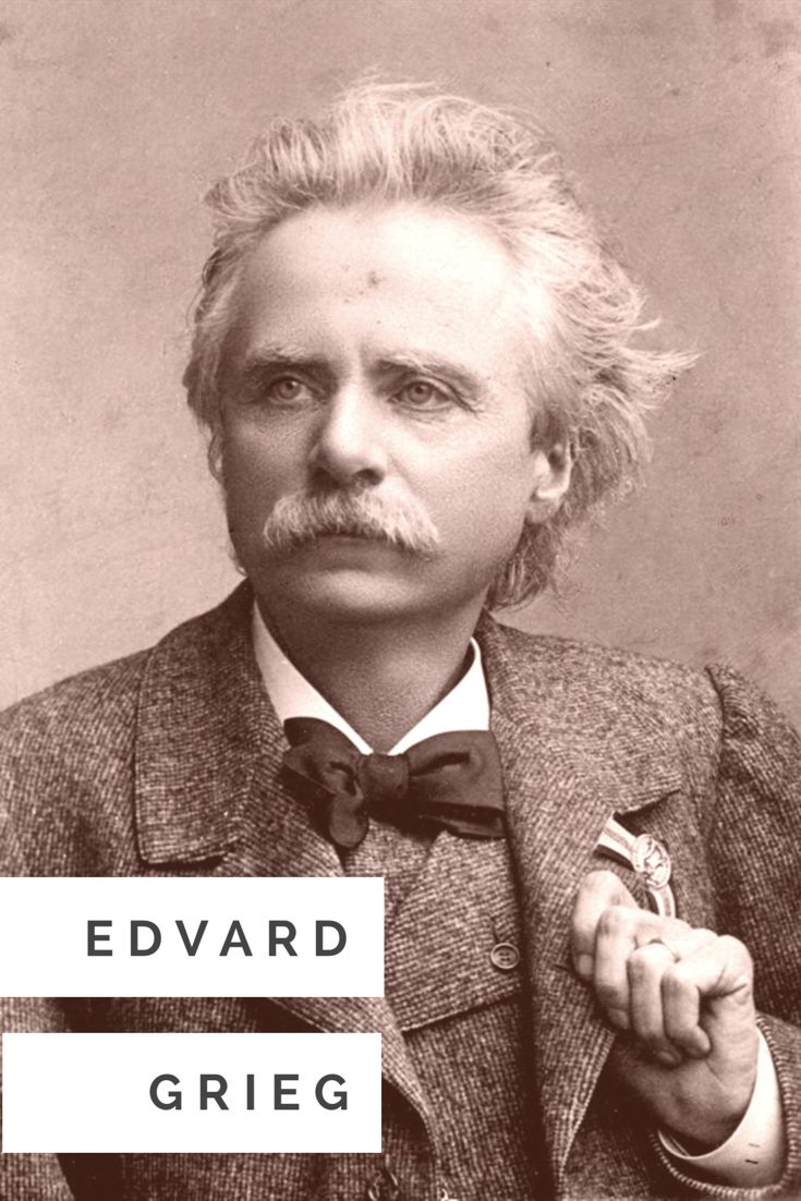 The Norwegian composer Edvard Grieg, from Bergen, Norway's second city.