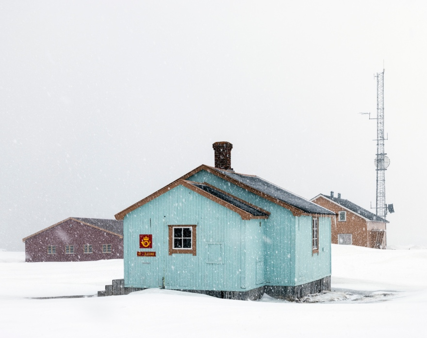 Researchers living on Svalbard