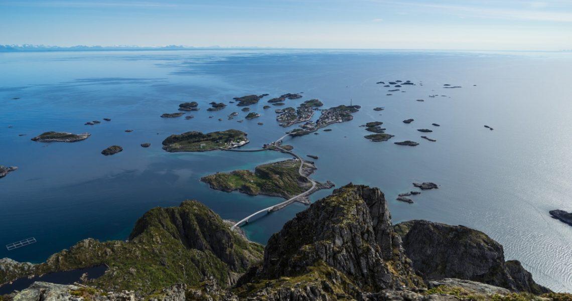 Henningsvær from above