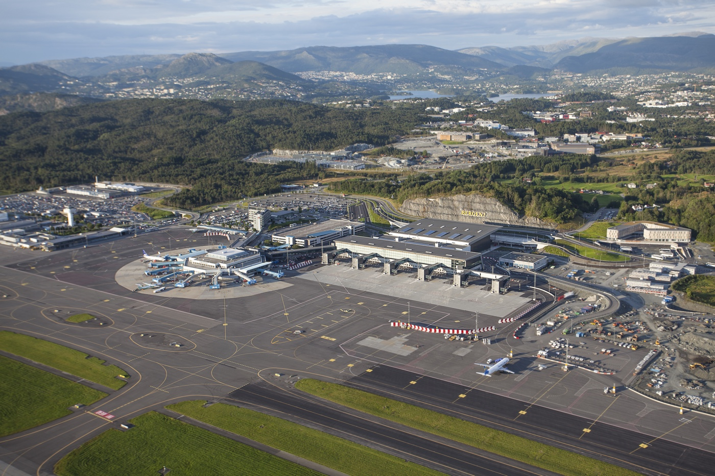 Flesland Airport in Bergen is bigger and better than ever before.