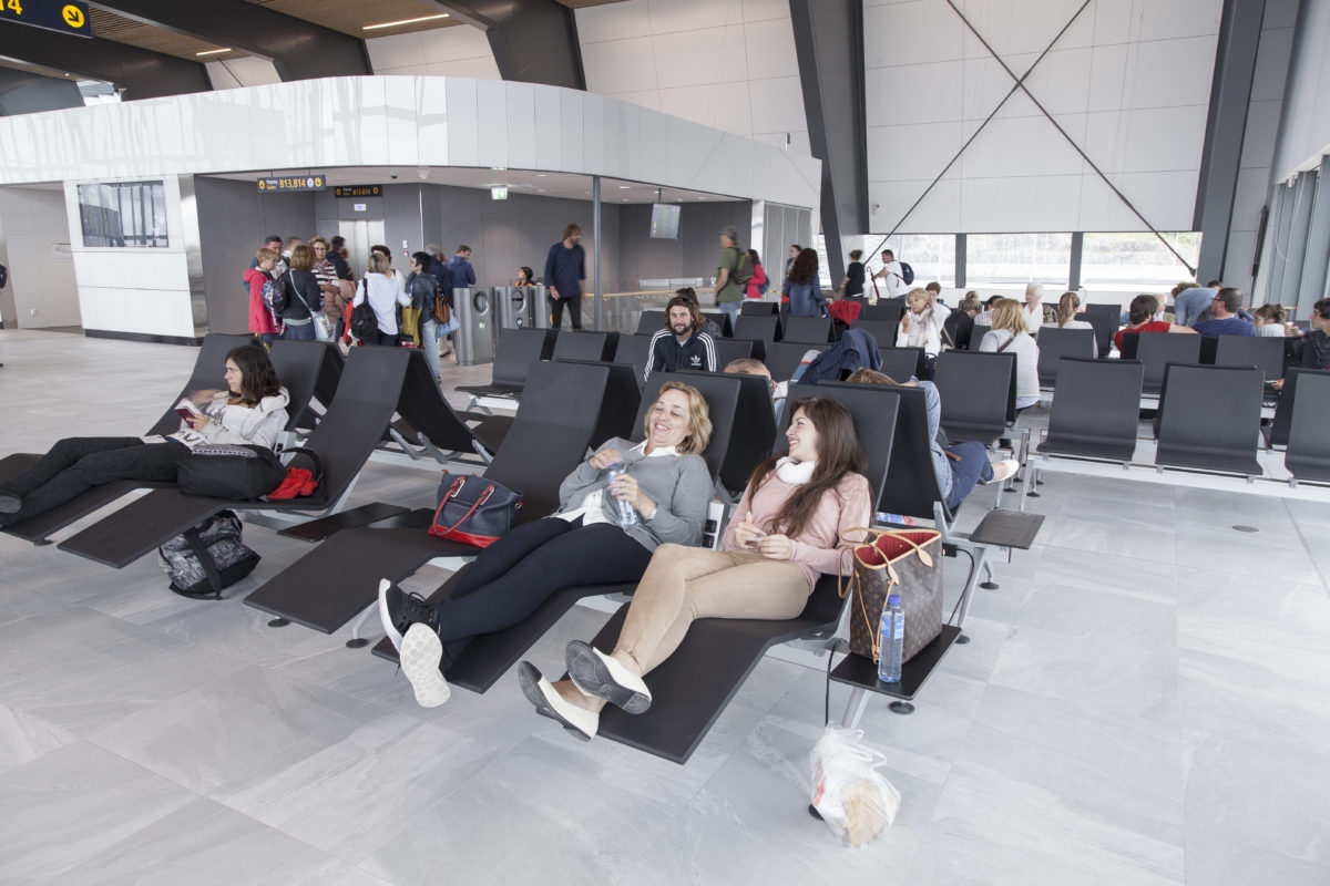 The revamped Bergen Airport