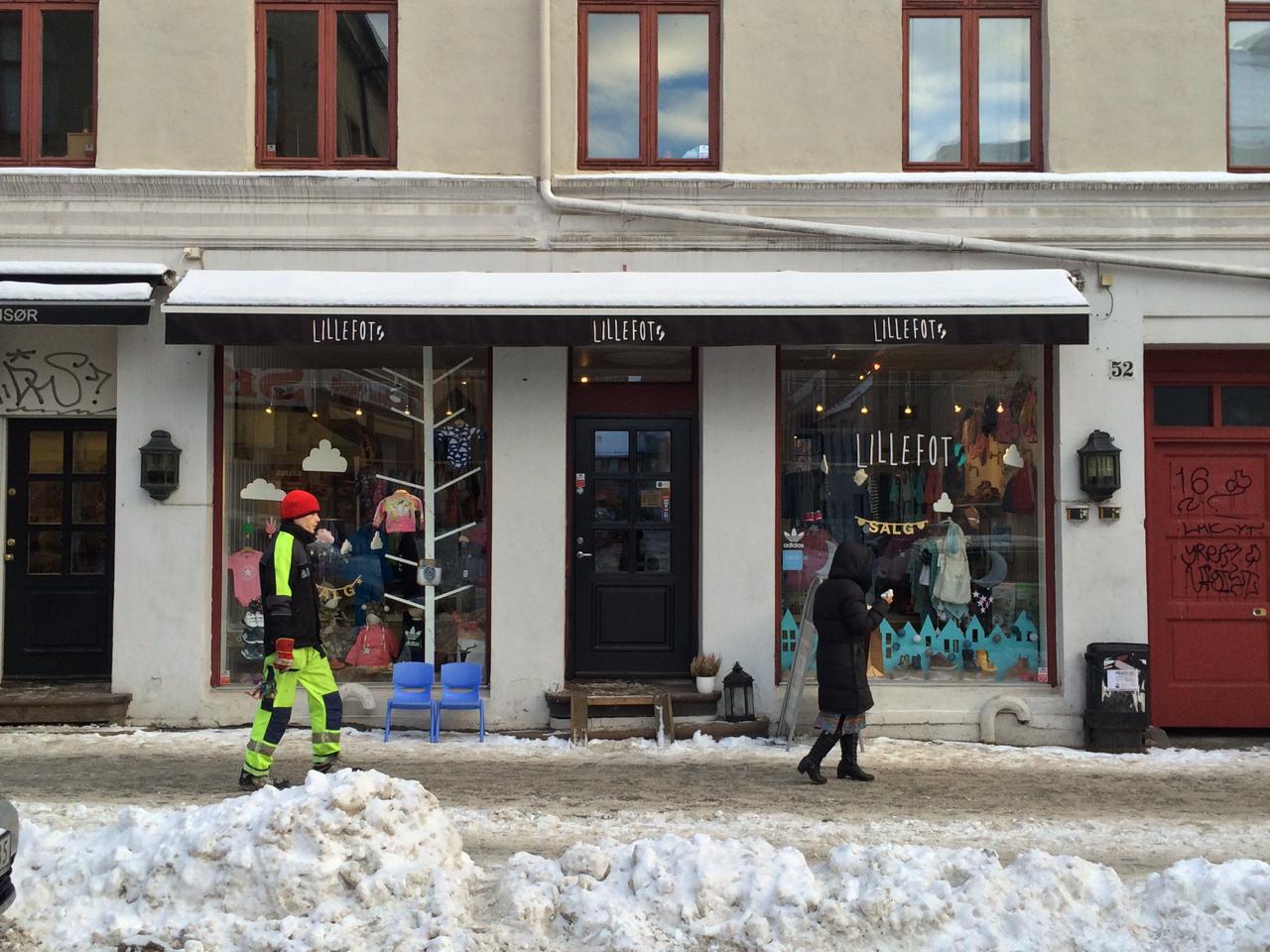 Shopping in Oslo