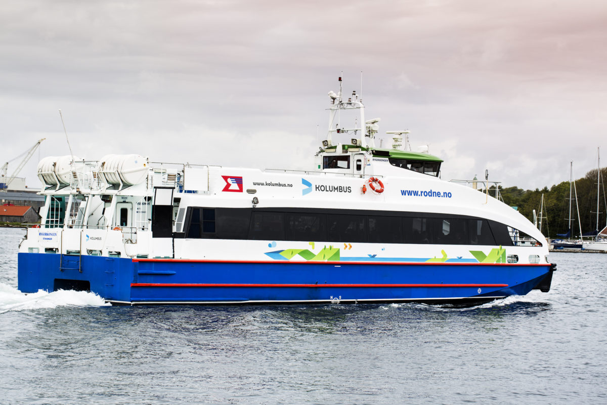 Passenger ferries in Rogaland