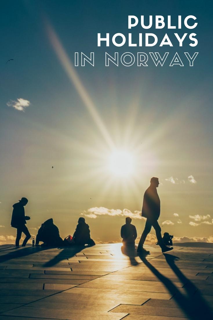 Public Holiday Calendar in Norway