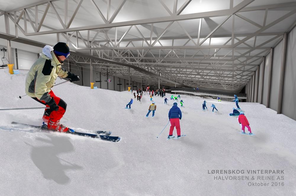 New indoor ski arena