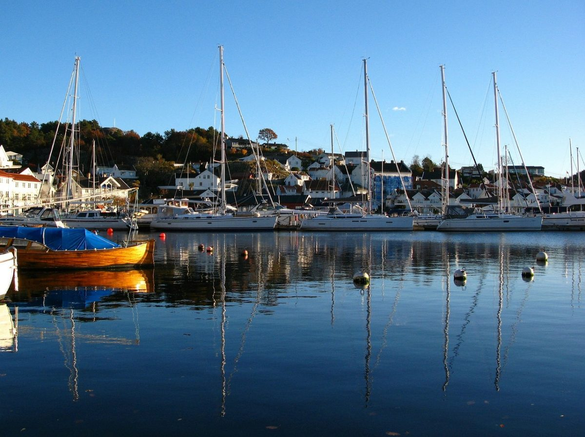 Boats in Grimstad