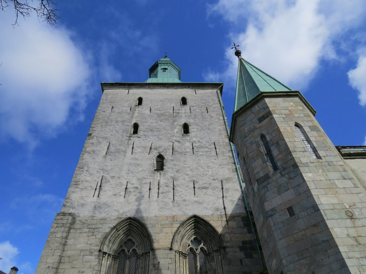 Entrance to Bergen Cathedral
