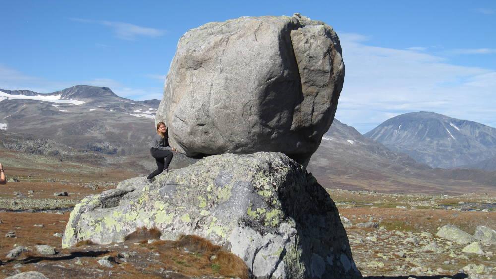 Playing around on Valdresflya in Jotunheimen national park