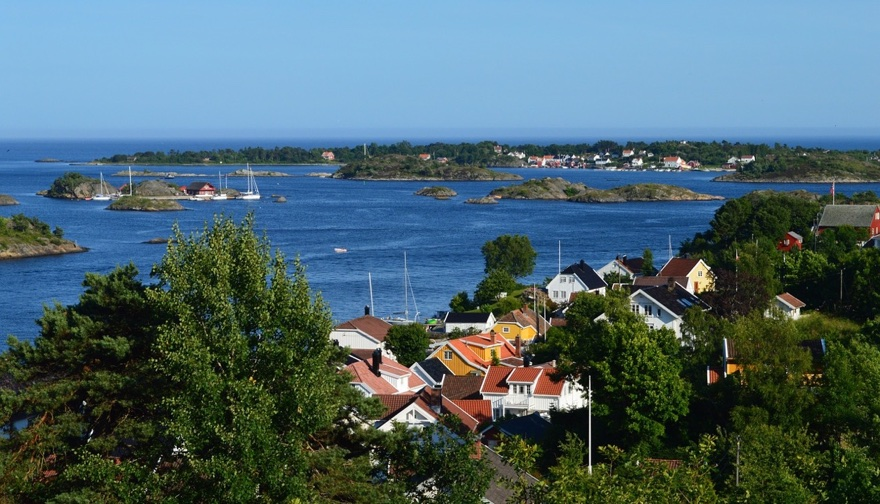 Arendal & Hisøy island in Southern Norway