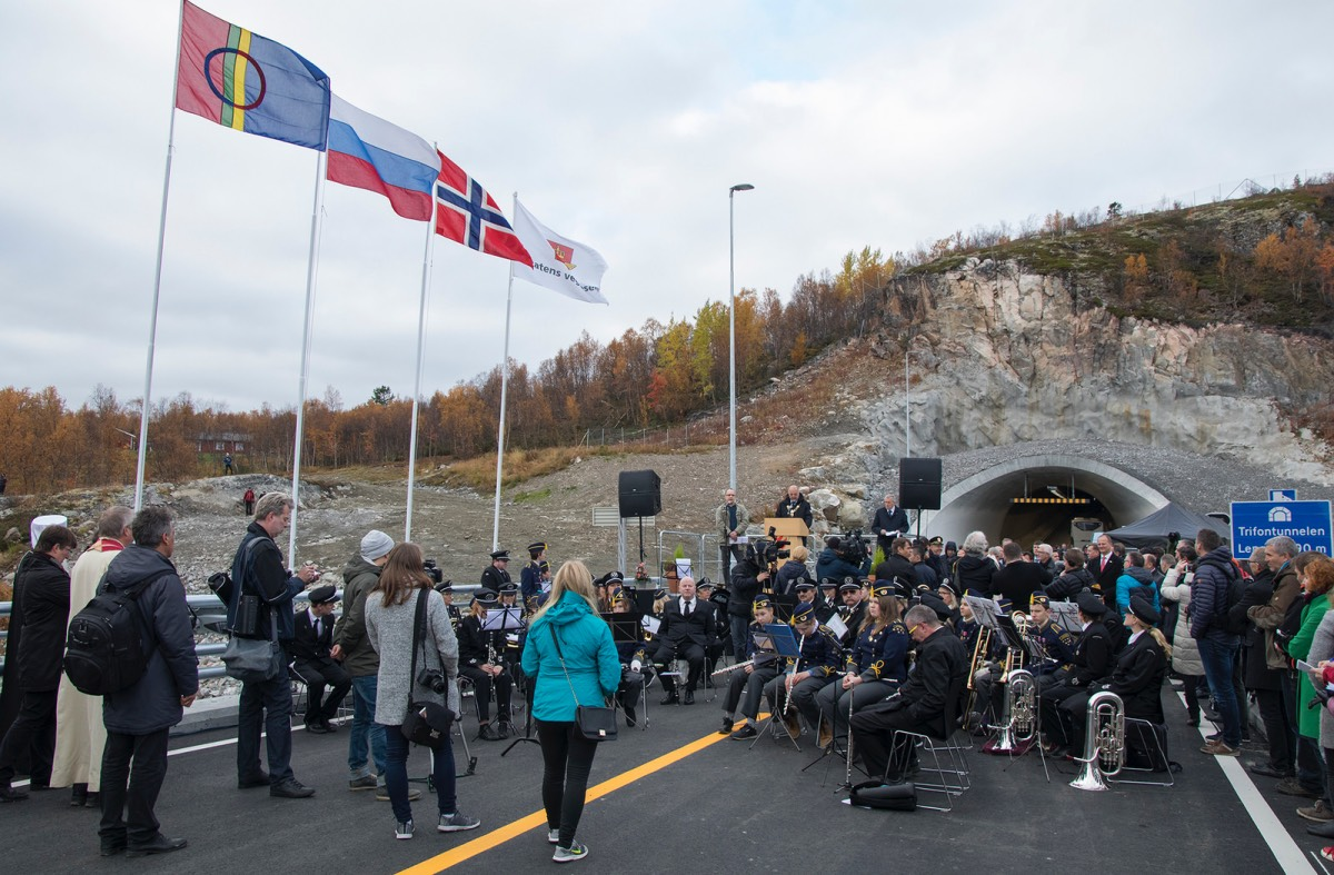 Trifontunnel Kirkenes