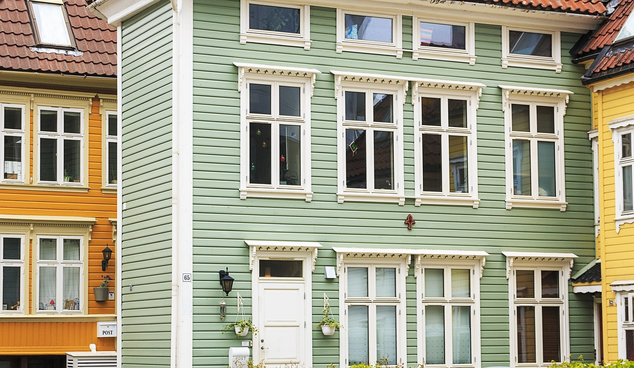 Typical Bergen architecture