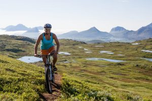 Cycle Tourism Increasing in Northern Norway