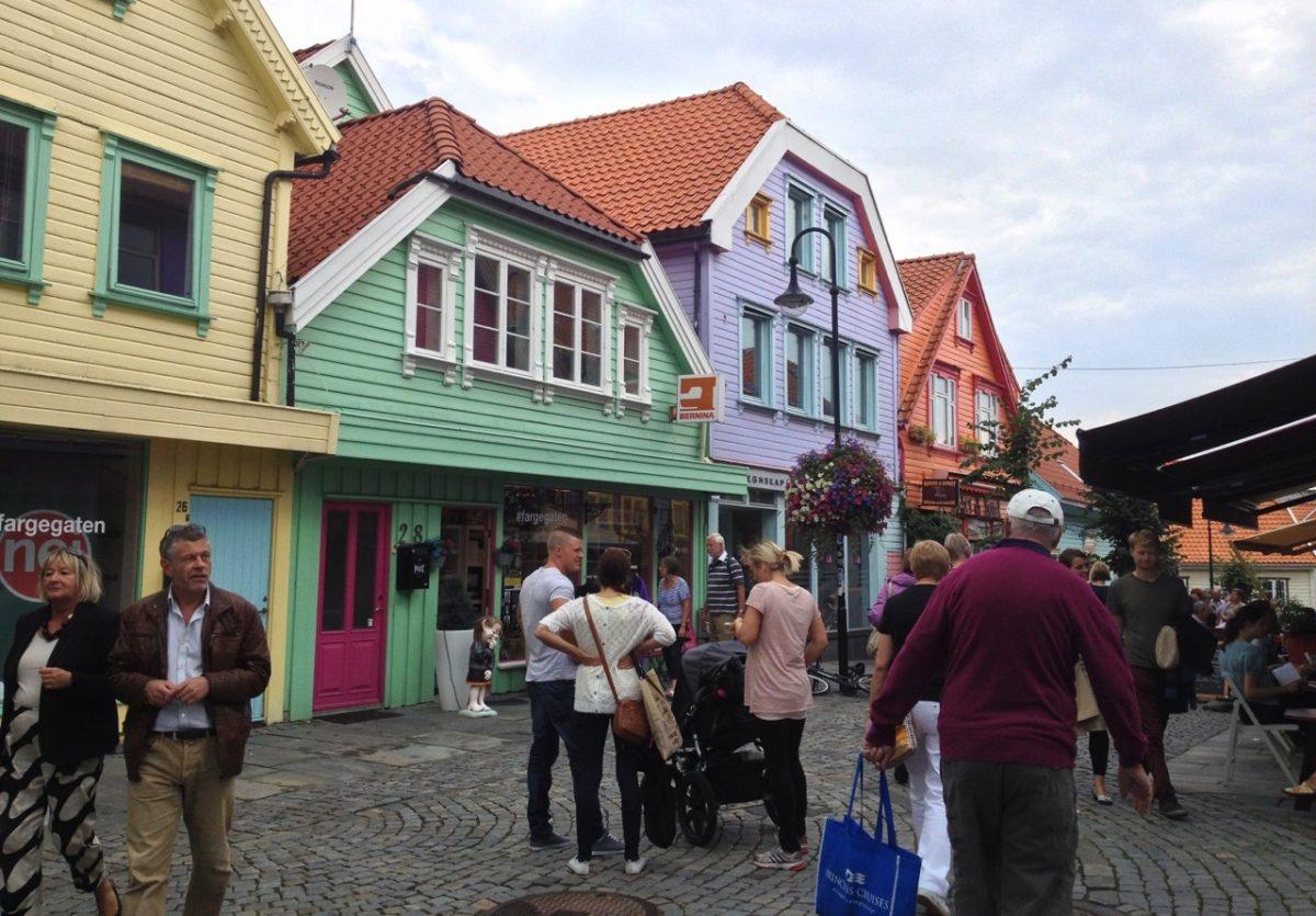 Øvre Holmegate in Stavanger