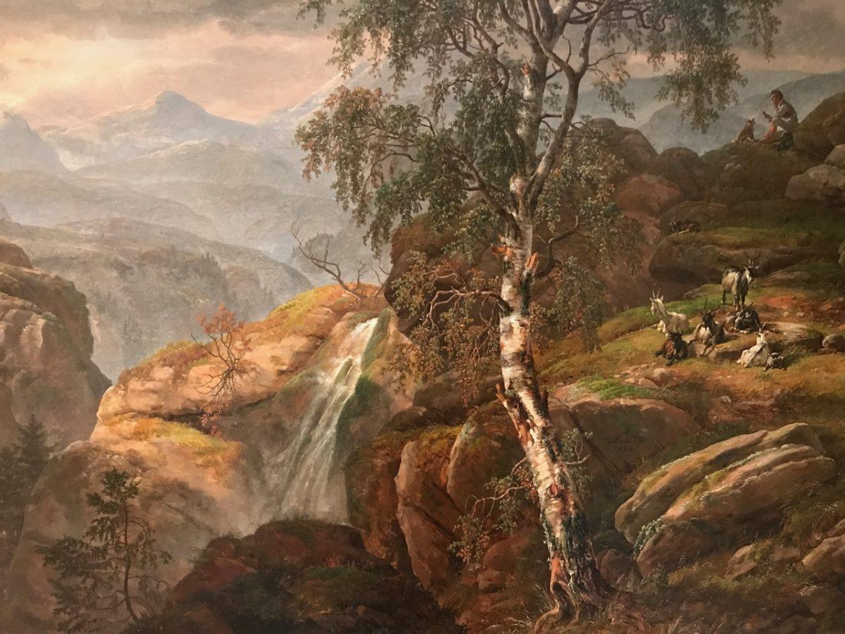 A landscape of J.C. Dahl