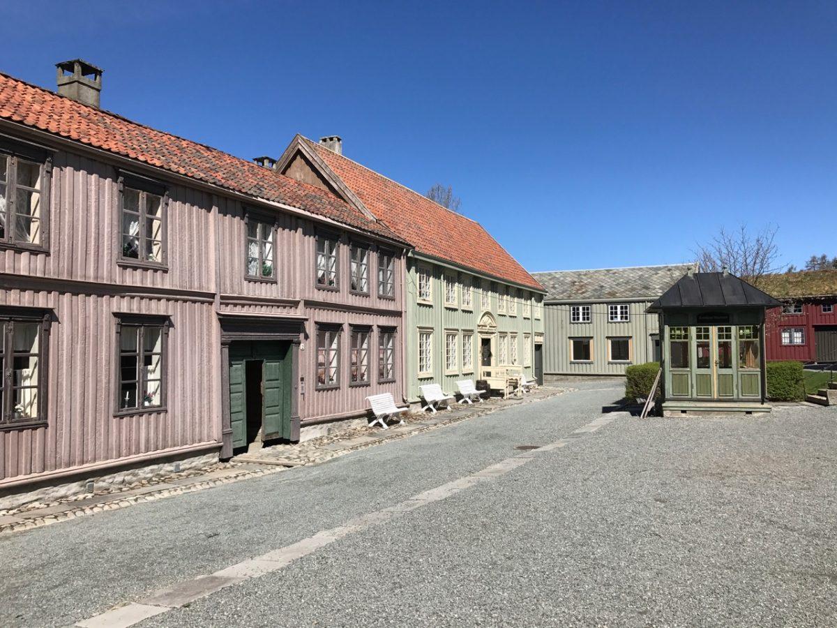 The outdoor museum at Sverresborg
