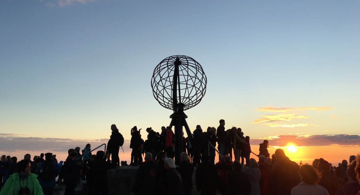 Nordkapp sunset
