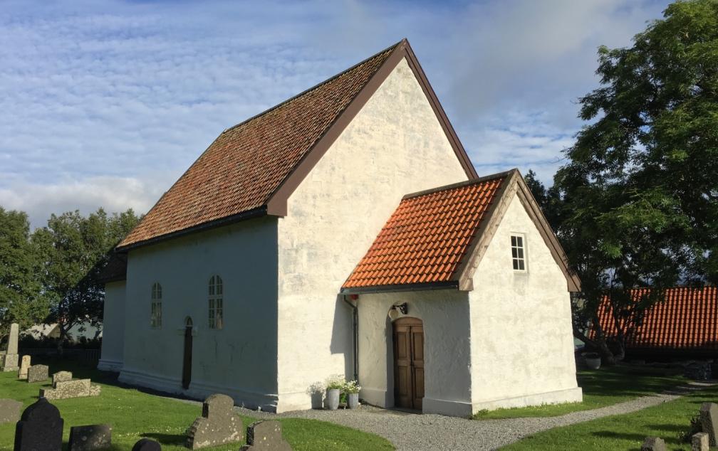 Giske Church near Ålesund