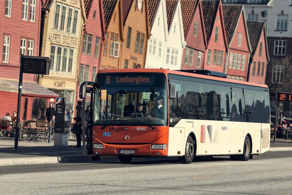 Bus system in Bergen