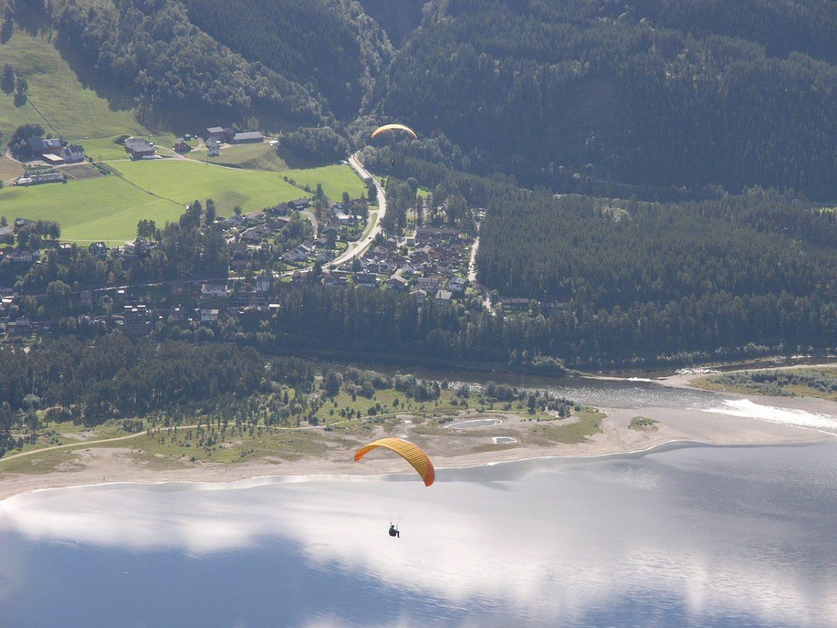 Gliding adventure in Voss
