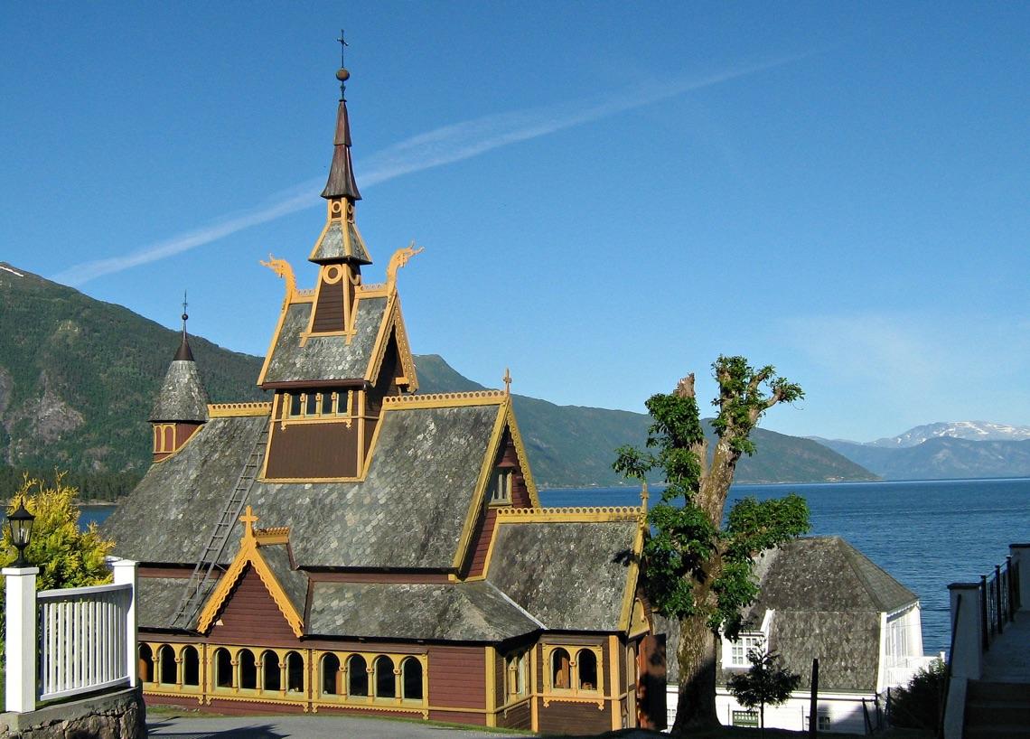 Church in Balestrand