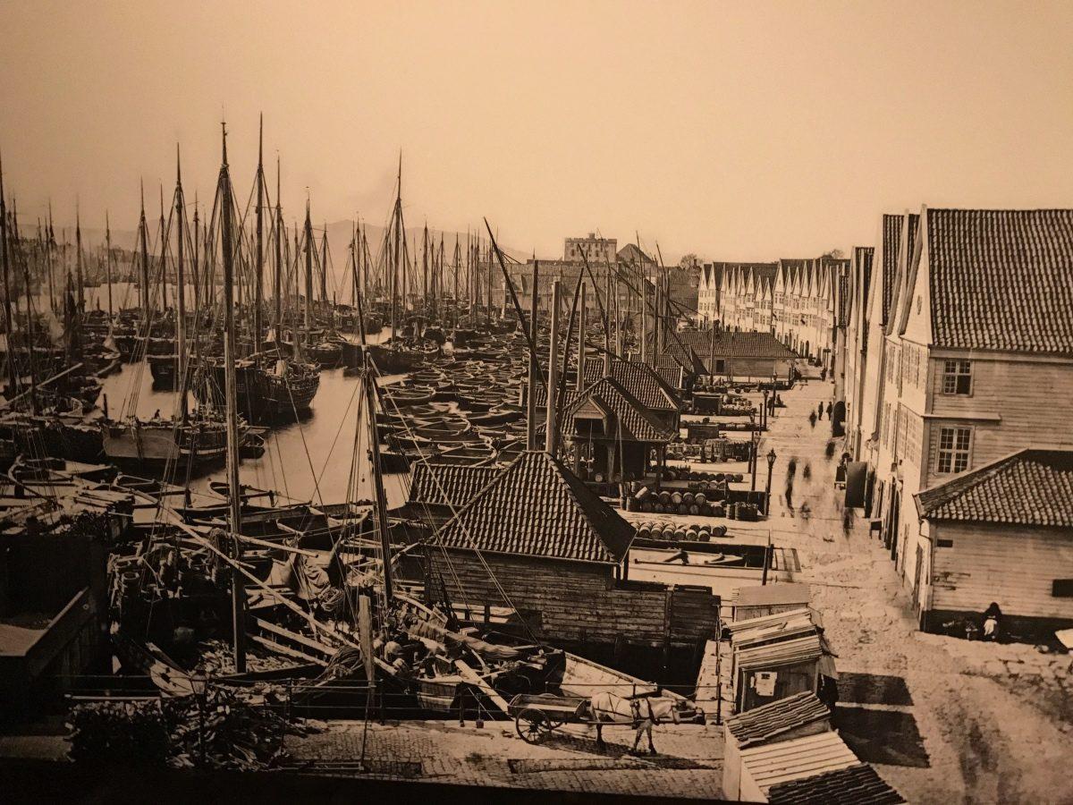 Old Hanseatic Bergen