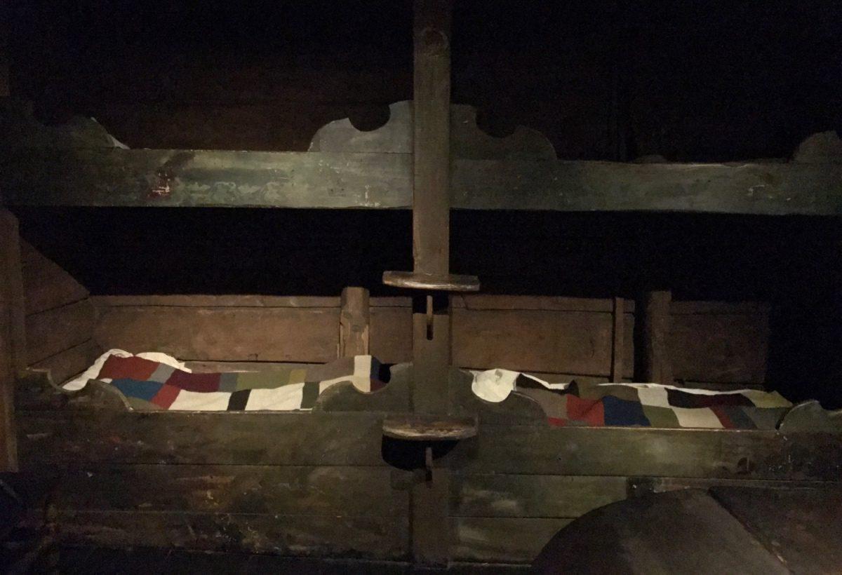 A bedroom in the Hanseatic museum