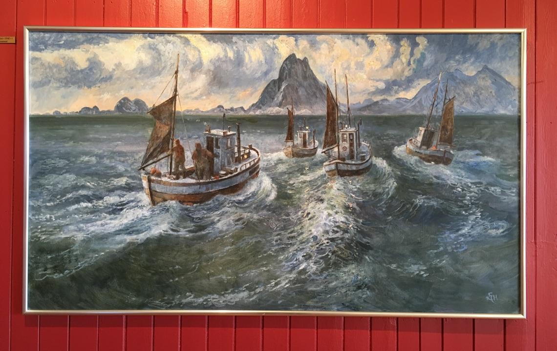 Art in Henningsvær