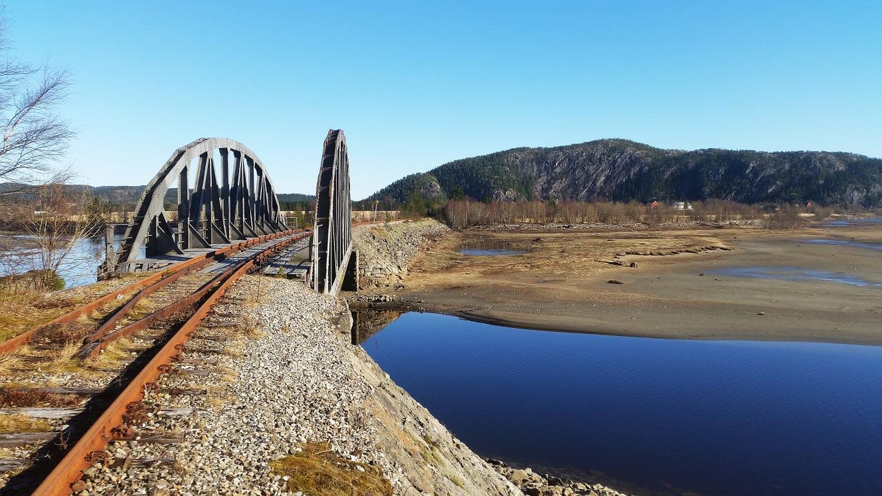 Norway railway travel
