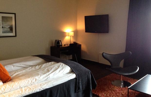 Guest room at Atlantica