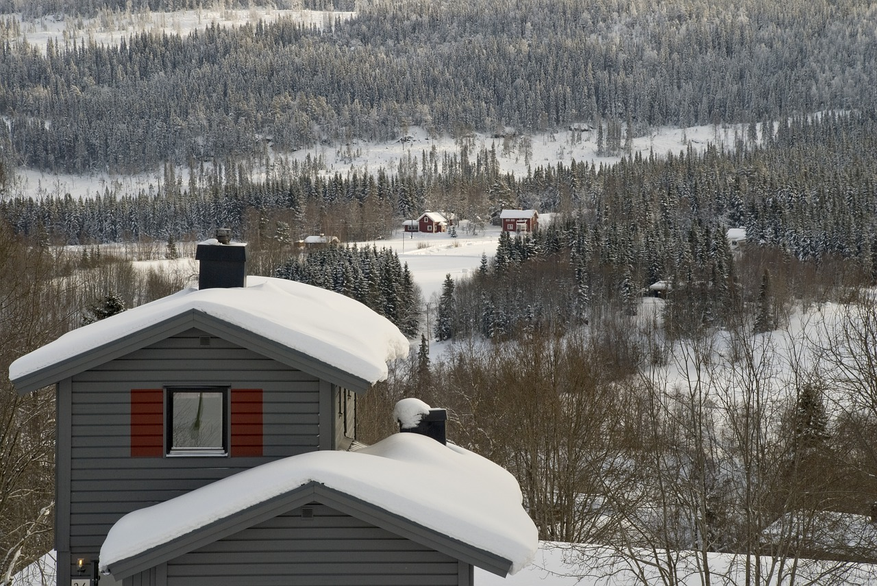 Åre in Central Sweden