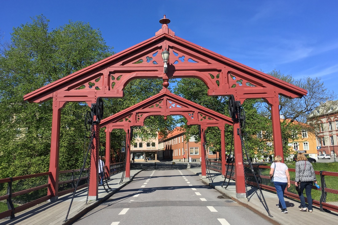 Old Town Bridge in Trondheim
