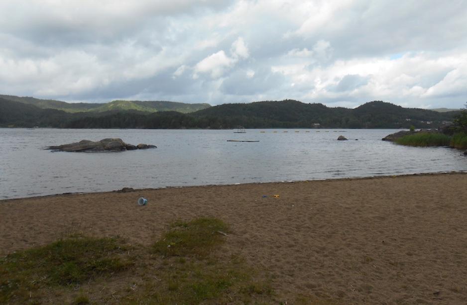 Beach walk near Kristiansand