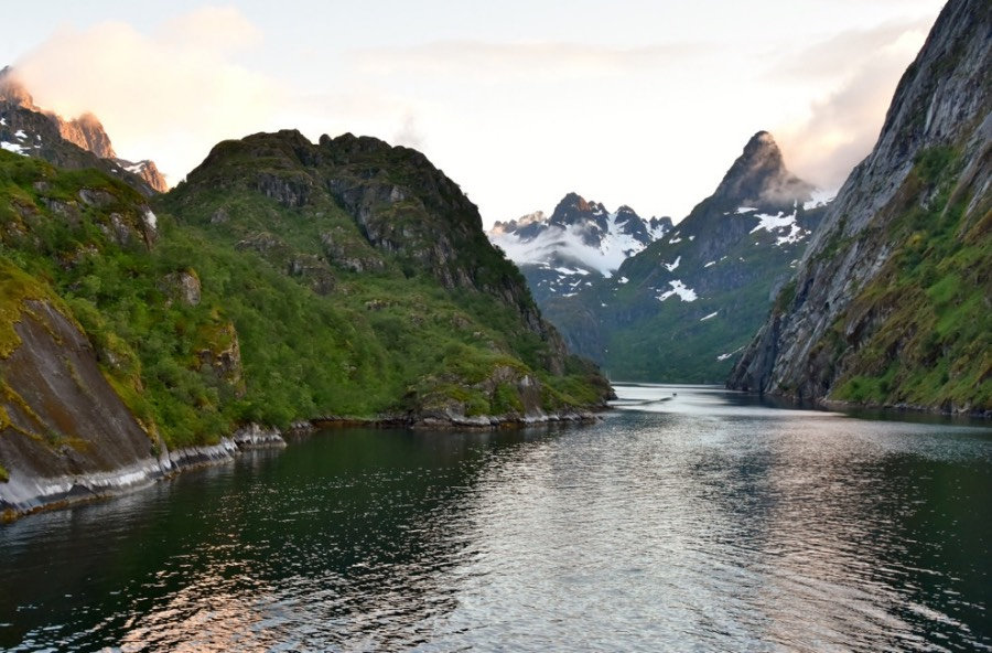 Trollfjord in Northern Norway
