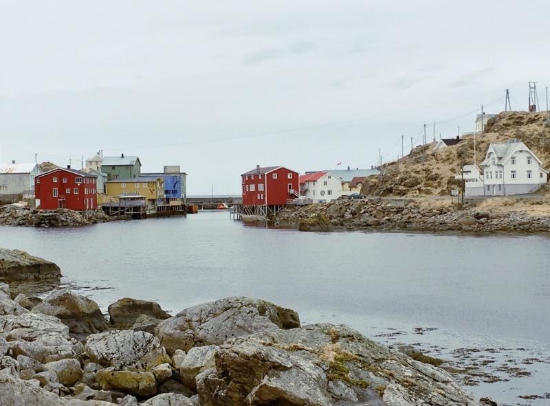The ghost village of Nyksund in Vesterålen, Norway
