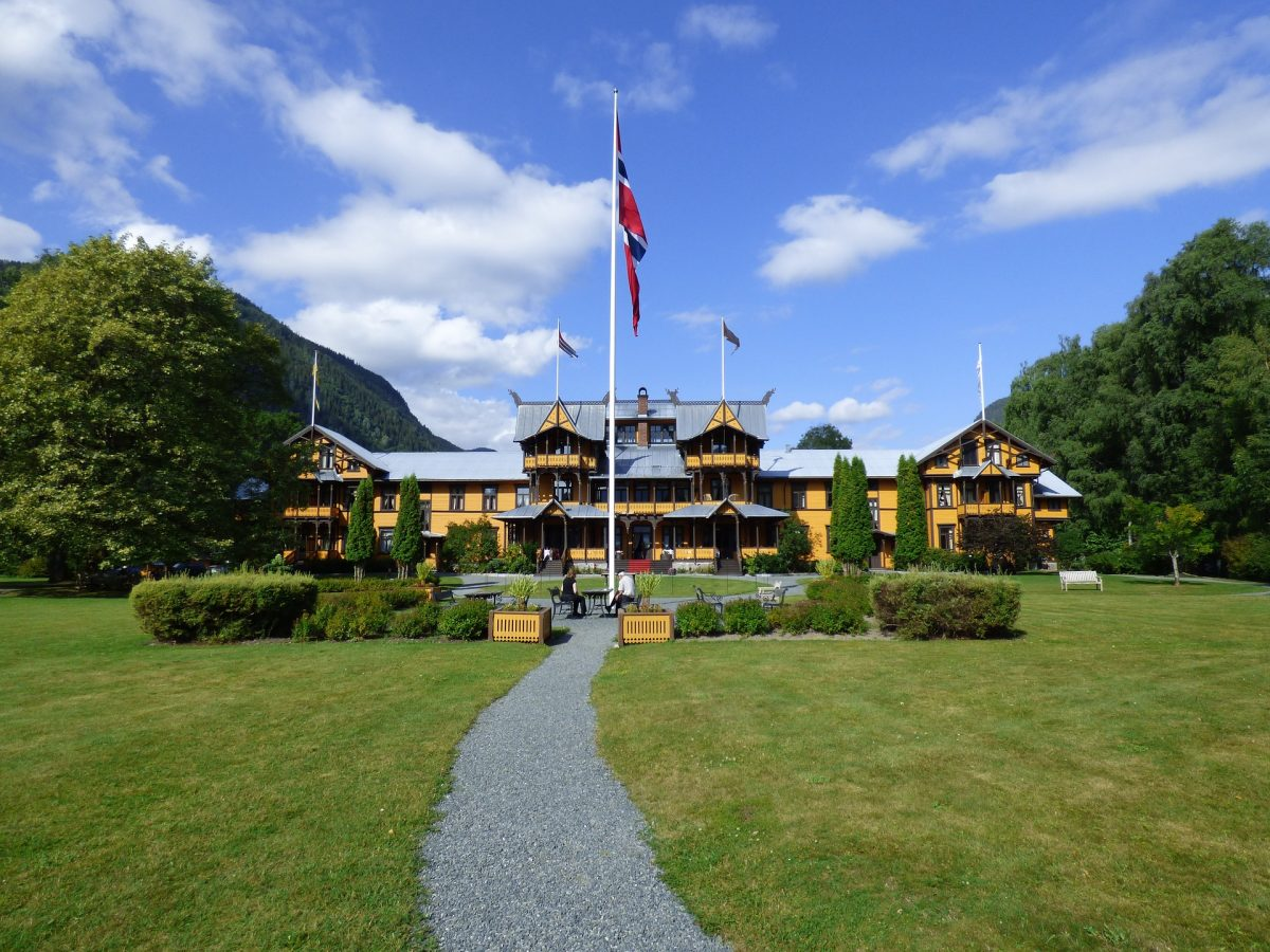 Famous hotel in Telemark