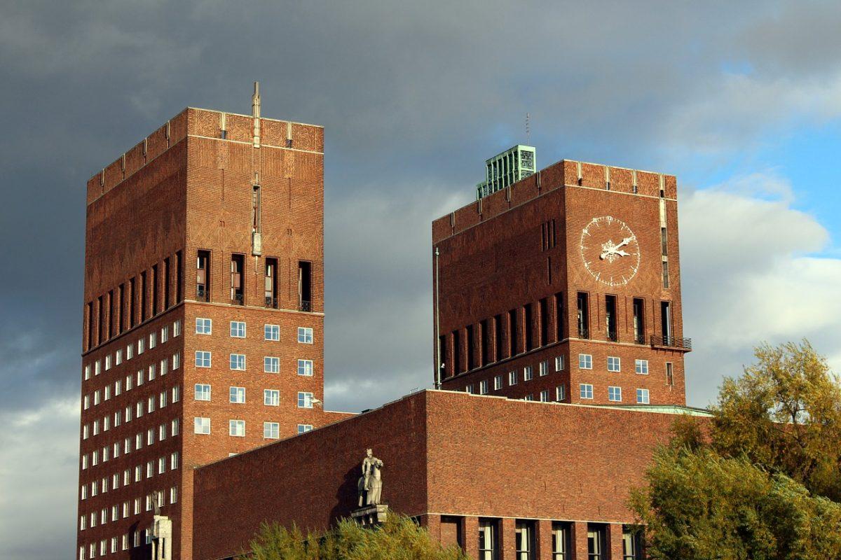 The unique city hall architecture